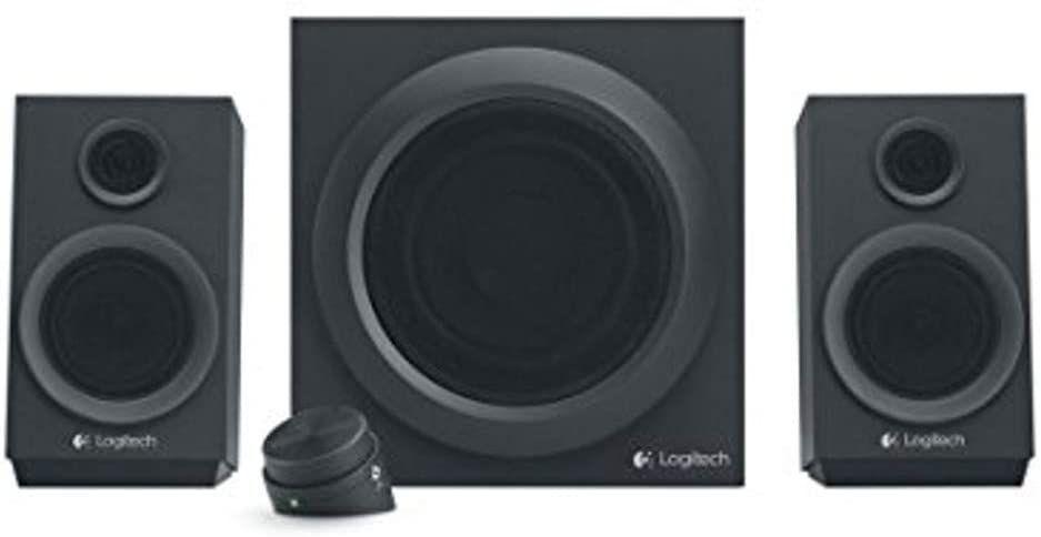 Sammeldeal Logitech Z333 2.1 Lautsprecher-System mit Subwoofer, Satter Bass, 80 Watt Spitzenleistung, 3,5 mm & Cinch [Amazon]