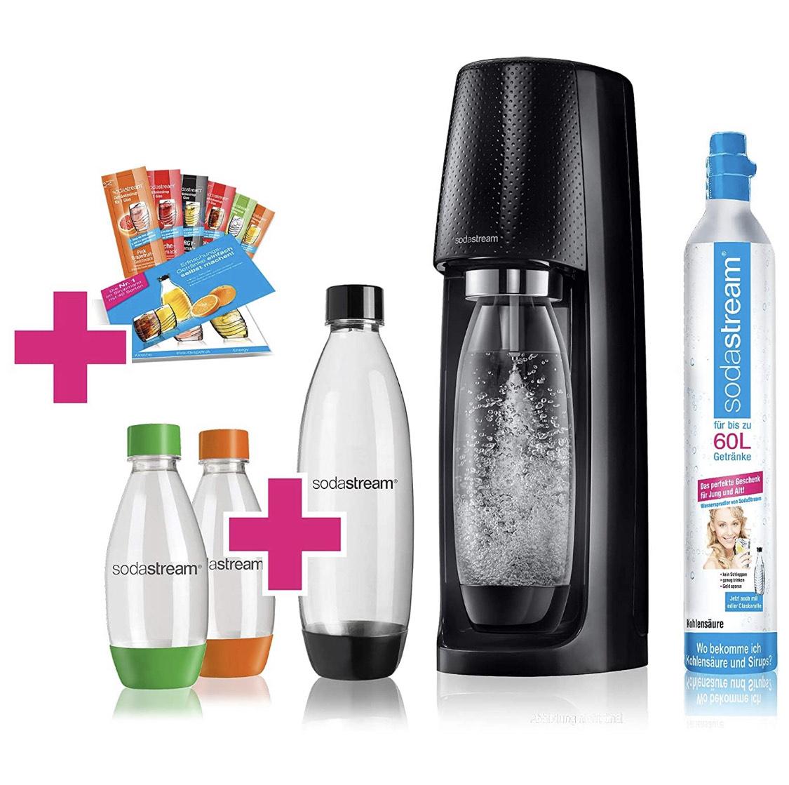 SodaStream Easy Wassersprudler-Set Vorteilspack