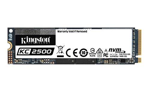 (Amazon Prime) Kingston KC2500 NVMe PCIe SSD -SKC2500M8 1TB
