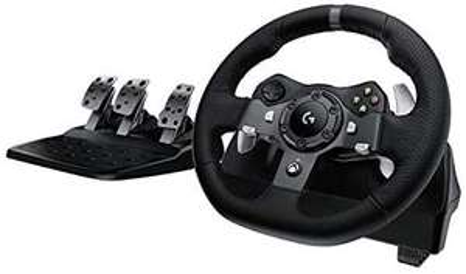 Logitech G920 Driving Force Gaming Rennlenkrad, Zweimotorig Force Feedback, 900° Lenkbereich [Amazon.co.uk]