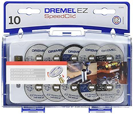 Sammeldeal Dremel SC690 EZ SpeedClic Trennscheiben und Aufspanndorn-/Schneide-Set [Energieklasse A]