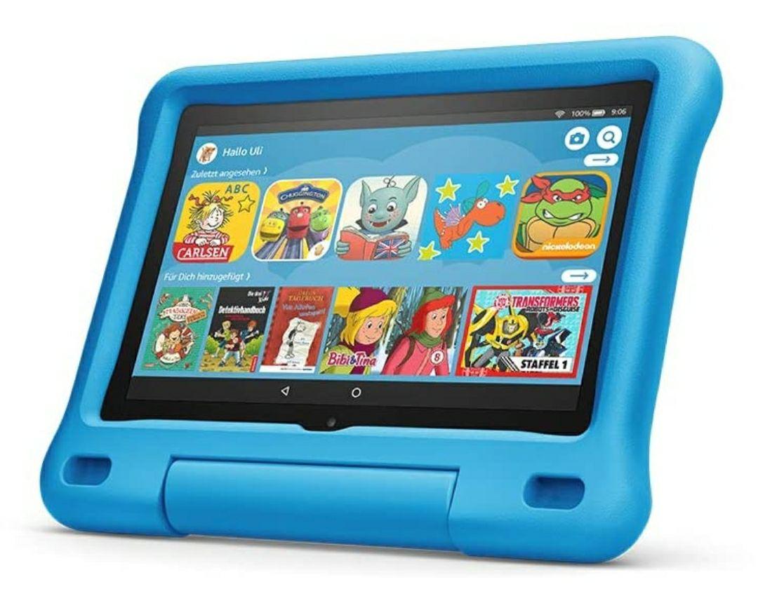 Das neue Fire HD 7 / 8 / 10 Kids Edition-Tablet, 8-10 Zoll-HD-Display, 32 GB, ver. Farben