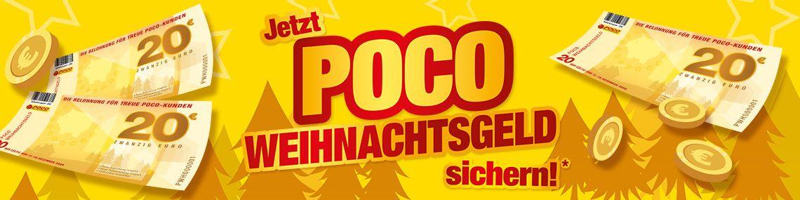 Offline / POCO / 20€ Gutschein ab 100 € Einkaufswert + 20€ Rabatt bei Einlösung ab 125€