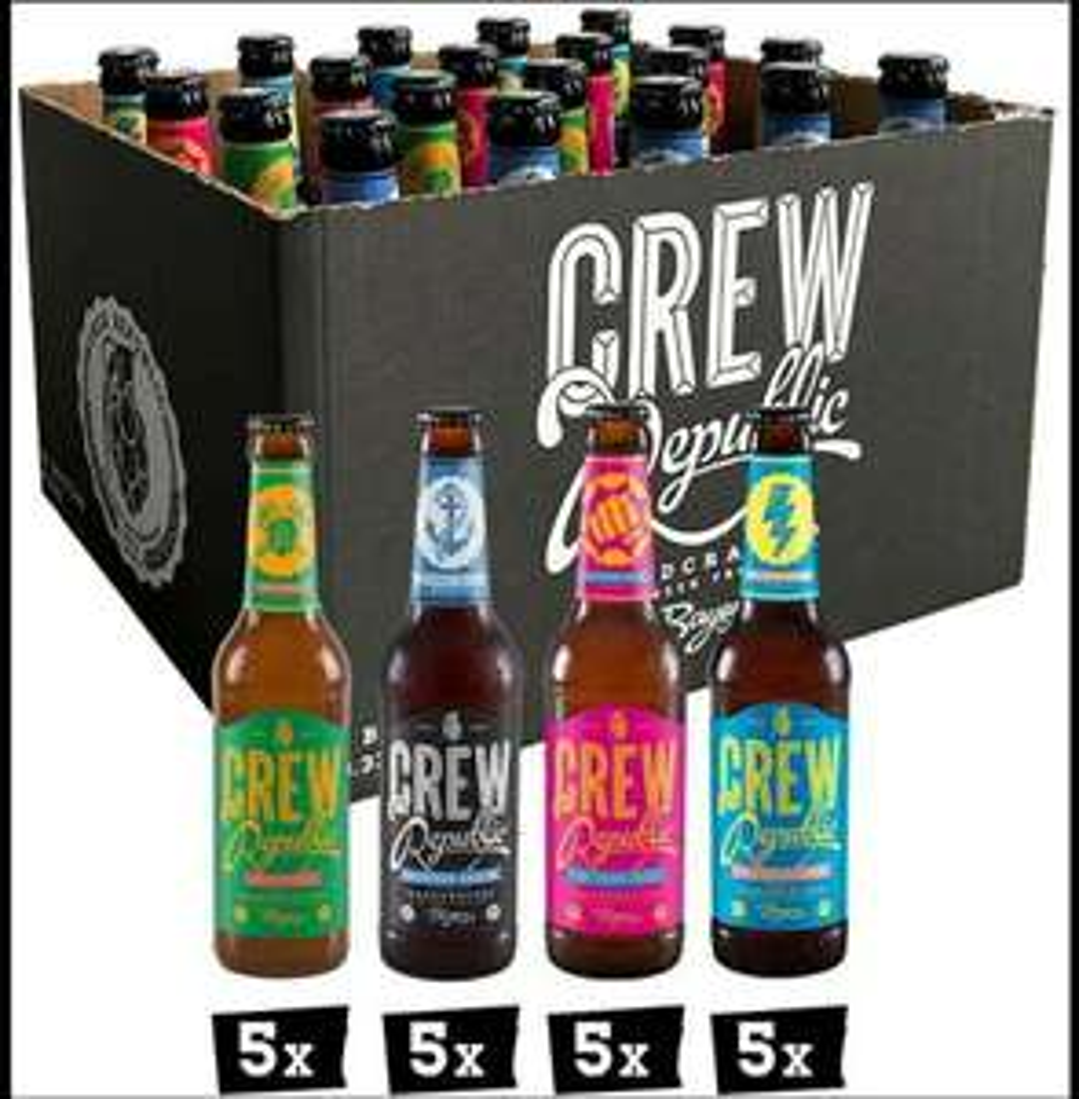 Crew Republic Craft Bier - z.B. Craft Bier IPA Mix [Prime]