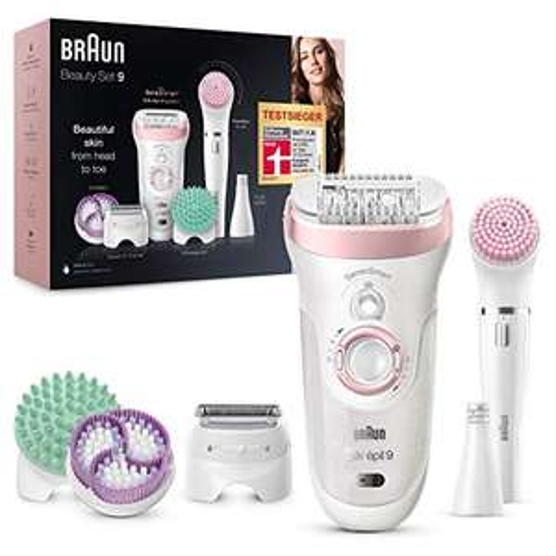 Braun Silk-épil Beauty-Set 9 9-995 Deluxe 9-in-1 Kabellose Wet&Dry Haarentfernung