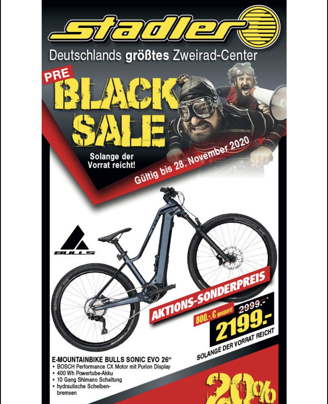 """E-Bike Bulls Sonic Eva E-Mountainbike 26"""""""