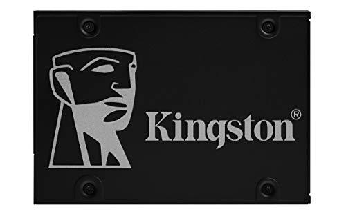 """Kingston SSDNow KC600 1TB (SATA, 2.5"""", R550MB/s, W520MB/s, 3D-NAND TLC, 1GB DDR-Cache, 600TBW / 5 Jahre Garantie)"""