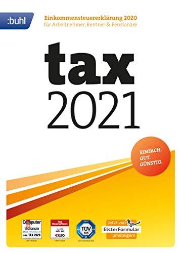Tax 2021 (Steuerjahr2020) Black Friday Angebot 8,99€ digitale Version