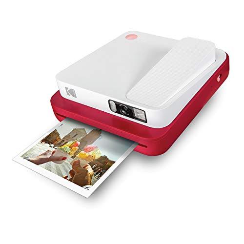 [Amazon] KODAK Smile Classic Sofortbilddigitalkamera + Bluetooth (Rot), 16MP, 35 Drucke/Aufladung – Starter-Pack 3,5 x 4,25 Zoll Zink-Papier
