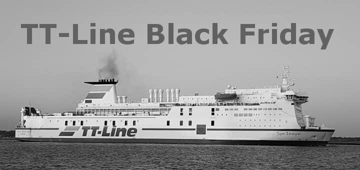 TT-Line Black Friday - bis zu 50% Rabatt