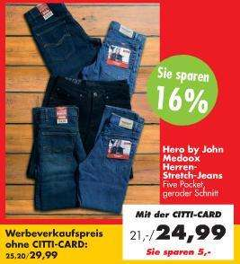 Günstige Hero by John Herren Jeans + Coupon-Aktion