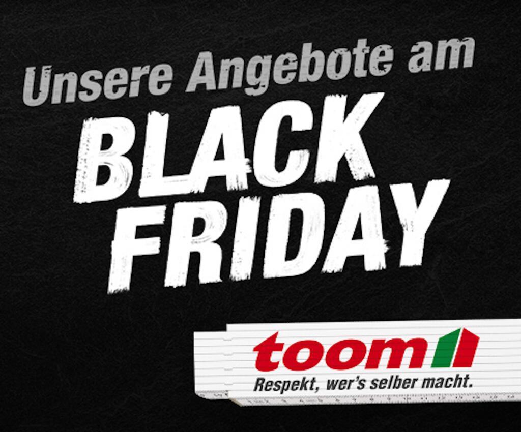 Toom // Black Friday Deals - z.B. Trampolin 'Fun 300' blau/grün 300 cm / 155,96€ bei Abholung