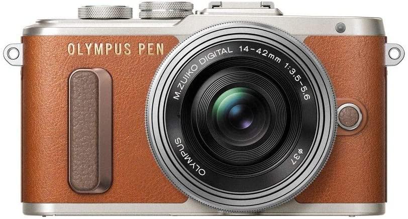 Systemcamera Olympus E‑PL8 1442 II EZ Pankcake Kit