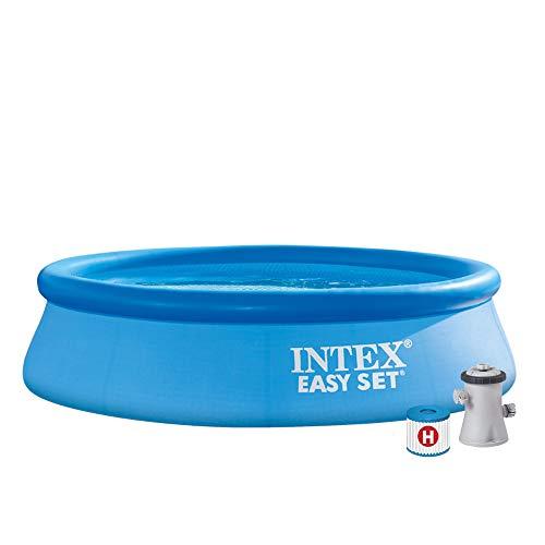 WHD Intex Easy Set Pool - Aufstellpool - Ø 305 x 76 cm - Mit Filteranlage