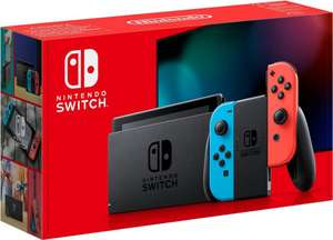 Nintendo Switch (blau/rot, Real F&F)