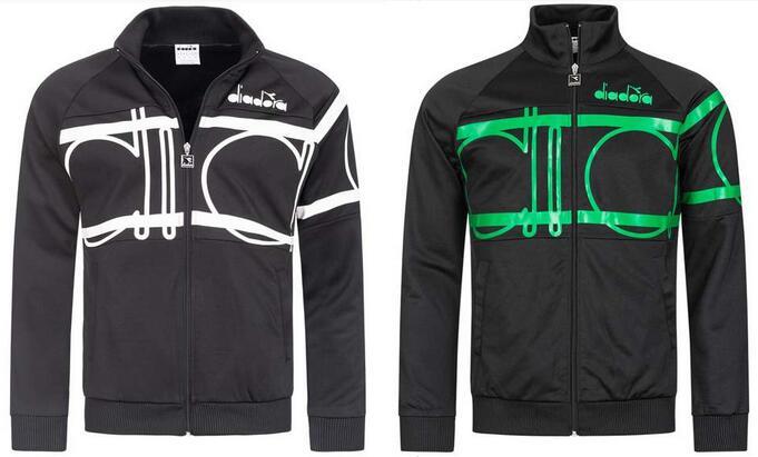 """Diadora Herren Jacke """"80s Bold"""" für 15,15€ + 3,95€ VSK (In 2 Farbvarianten verfügbar, Größe S - L) [SportSpar]"""