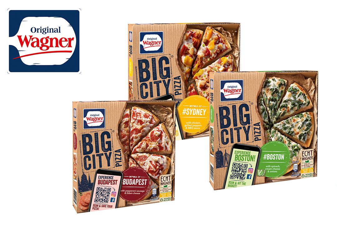 [ HIT Markt ab 23.11.] Wagner Big City Pizza 1,95€ Angebotspreis + 75 Cent Scondoo Cashback