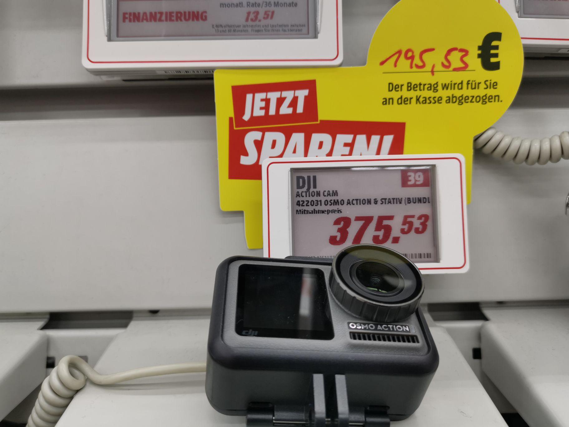 DJI Osmo Action Bundle (mit Stativ) Media Markt Mülheim