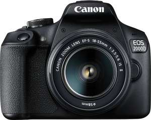 Canon EOS 2000D BK 18-55 IS II Kit