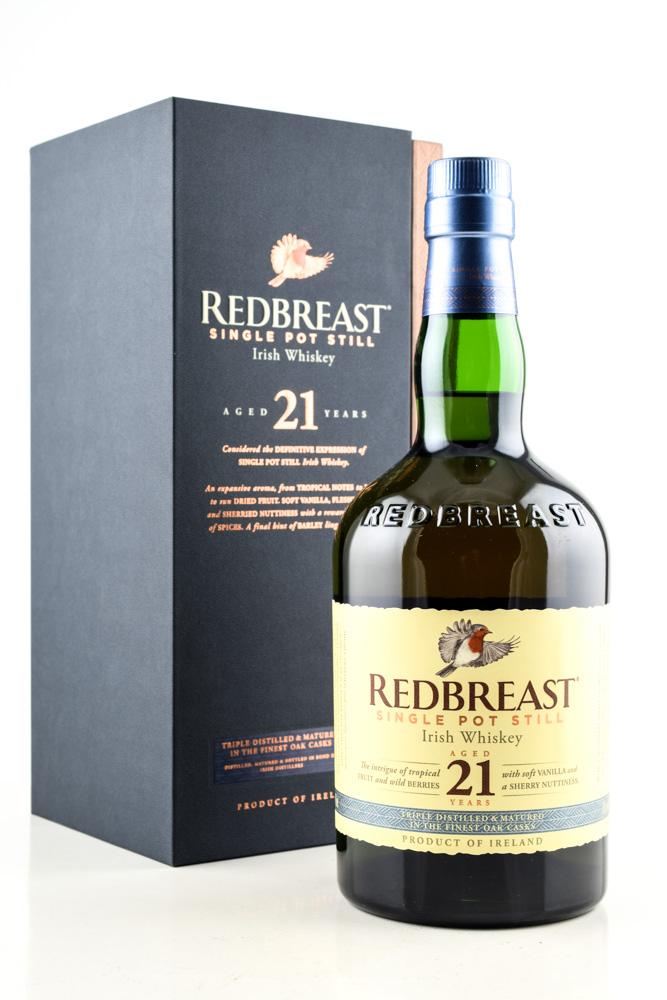 Redbreast 21 Jahre 46%vol. 0,7l irischer Whisky Whiskey