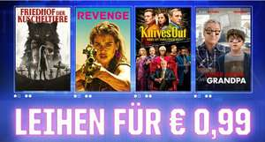 Sky Cyber Week - HD Leihfilme im Store bis zu 80% reduziert.