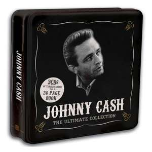 [ 3 CDs ] Johnny Cash - The Ultimate Collection (3CD Box Set Tin) für 5,49 EUR inkl. Versand @ play.com