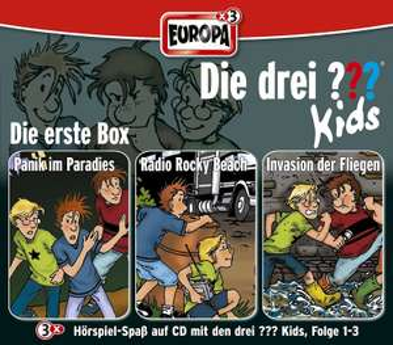 Die Drei ??? Kids 01/3er Box-Folgen 1-3 (Die erste Box) [Prime & Thalia]