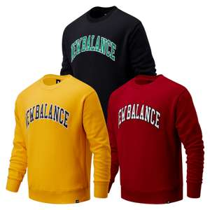 New Balance Sweater Athletics Varsity Pack Crew (Größen S bis XL)
