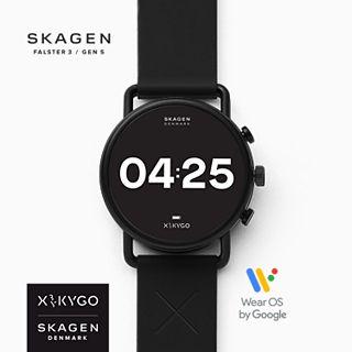 Black Friday bei Skagen Smartwatch HR Falster 3 X by KYGO - Edelstahl und weitere