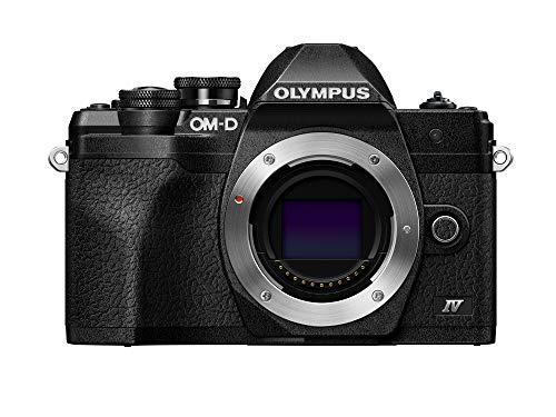 Olympus OM-D E-M10 Mark IV Kamera Body schwarz