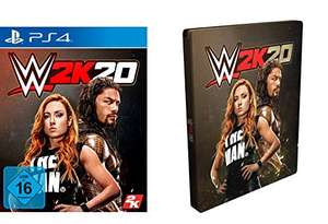 WWE 2K20 Standard Edition inkl. Steelbook - PS4