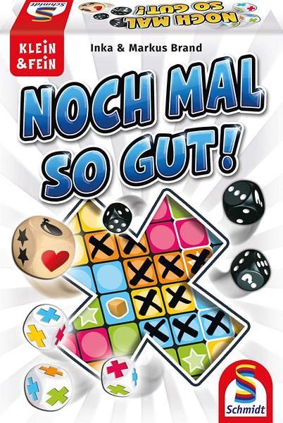 Noch mal so gut! - Ein Würfelspiel für 1-6 Personen von Schmidt und weitere Spiele im Angebot [Thalia KultClub]