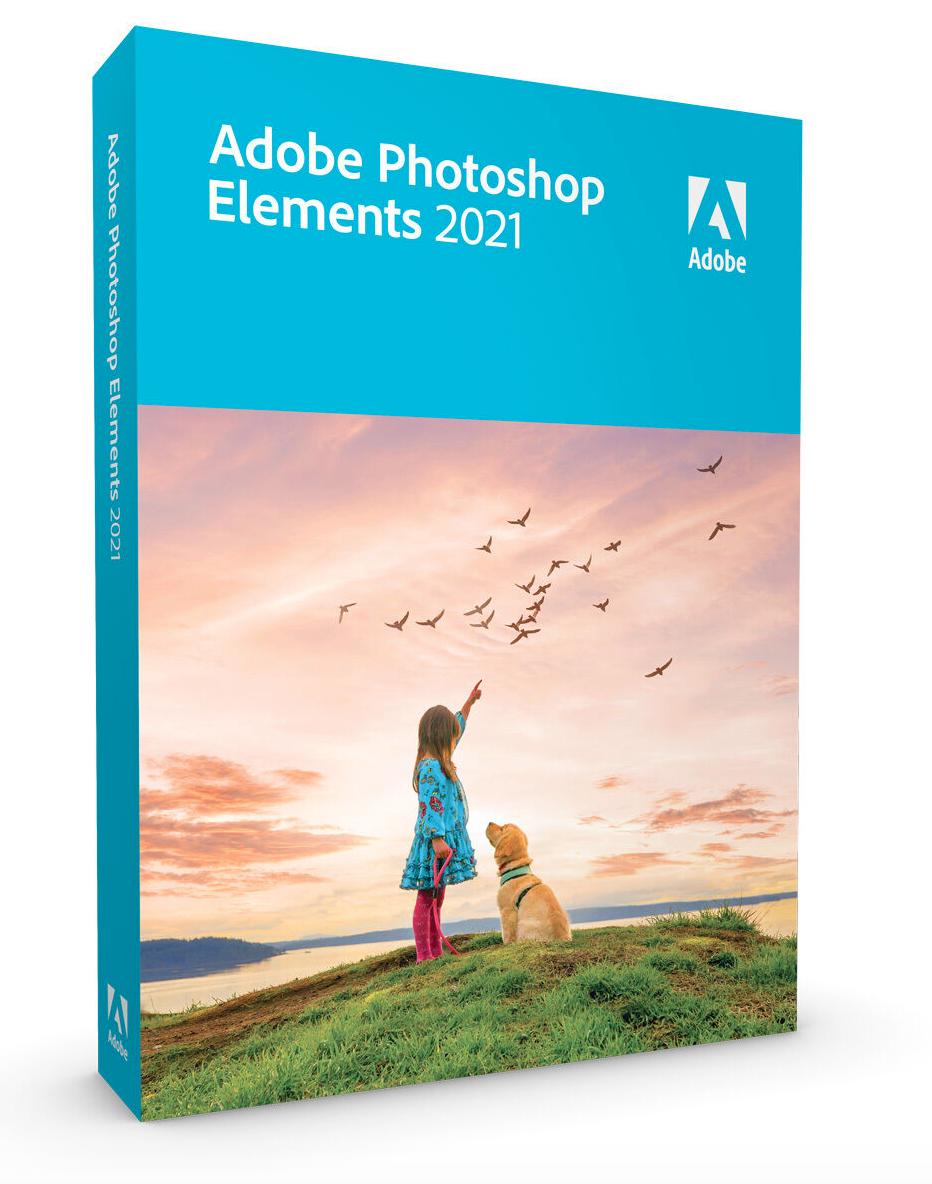 Adobe Photoshop Elements 2021 Box [PC & Mac]