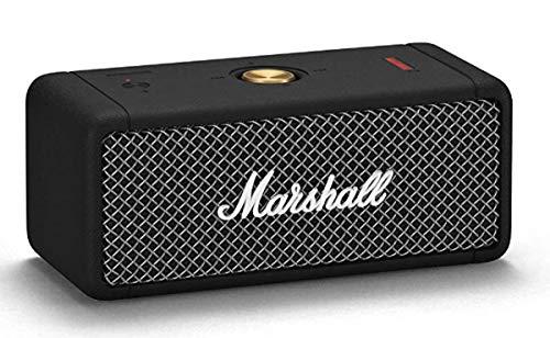 [Amazon.co.uk] Marshall Emberton Tragbarer Lautsprecher - Schwarz, One size