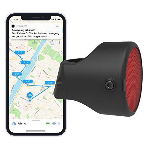 Invoxia Bike Tracker - GPS-Tracker mit IoT-Datennetz für 3 Jahre, 10 € weiteres Jahr