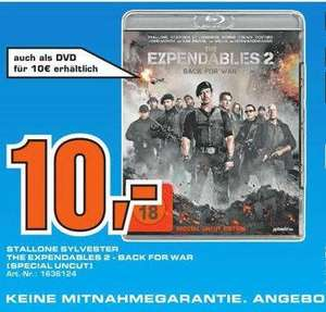 """[Lokal Offline] Saturn Herford """"Expendables 2""""  Blu-Ray (Special Uncut Edition)"""