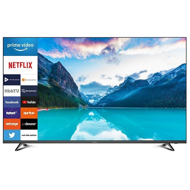 Dyon Smart 55 XT 4K Ultra-HD Smart LED TV & HD Triple Tuner Fernseher 55 Zoll, Netto offline und online