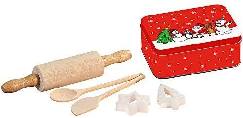 Kesper Kinderbackset inklusiv Weihnachtsdose, Globus Supermarkt