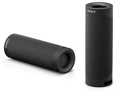 [Amazon] Sony SRS-XB23 tragbarer, kabelloser Bluetooth Lautsprecher (12h Akkulaufzeit, wasserabweisend, Extra Bass), schwarz