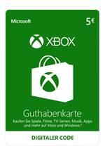 Xbox verschenkt 5€ Geschenkarte (personalisiert)