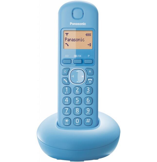 Panasonic KX-TGB210GF Schnurlostelefon hellblau für 7,98€ inkl. Versand (Euronics)