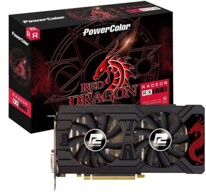 [Galaxus] Powercolor Radeon RX 570 8GB Red Dragon Grafikkarte