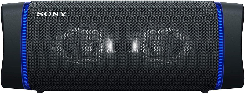 Sony SRS-XB33 tragbarer, kabelloser Bluetooth Lautsprecher (Lautsprecherbeleuchtung, wasserabweisend 4 Farben