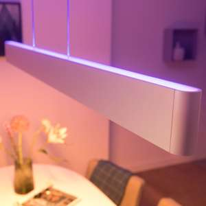 Philips Hue White & Color Ambiance Ensis Pendelleuchte weiß Bluetooth