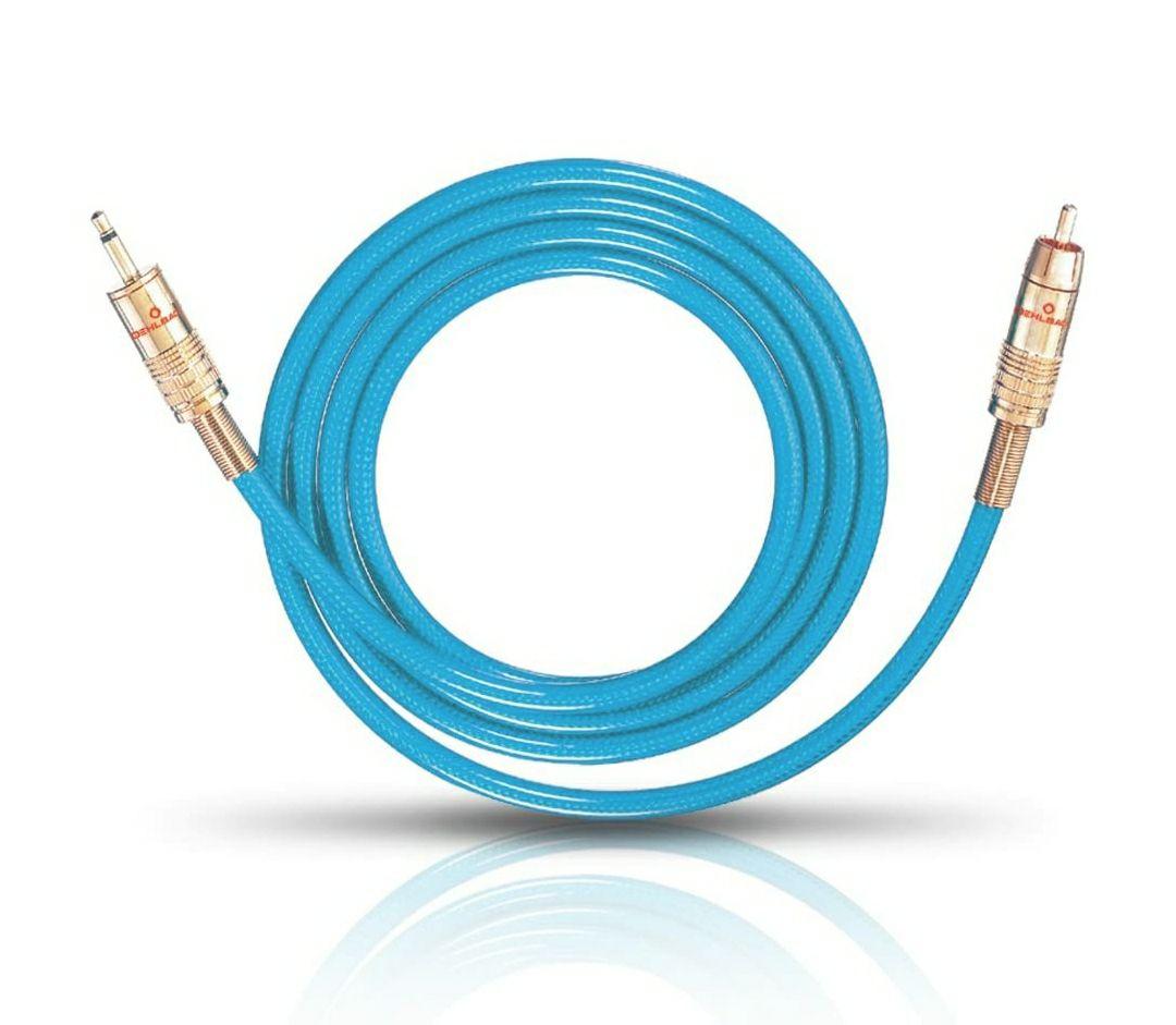 Oehlbach Klinke zu Chinch NF 113 DI 150 Kabel 1,5m (Prime kostenloser Versand)
