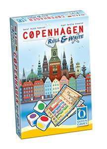 Copenhagen - Roll & Write (Queen Games 10463) Brettspiel @Amazon Blitzangebot