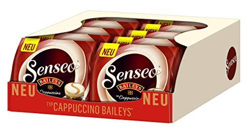 [Amazon Prime/WHD] Senseo Pads Typ Cappuccino Baileys, 80 Kaffeepads, 10er Pack