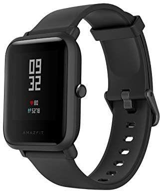Huami Smartwatch Amazfit bip Lite/A1915 Lite Black [Amazon]