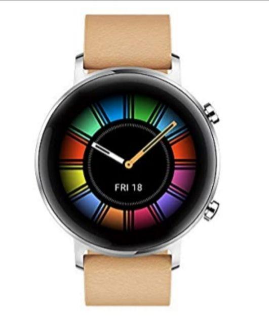 Huawei Watch GT 2 Classic 42mm in Beige