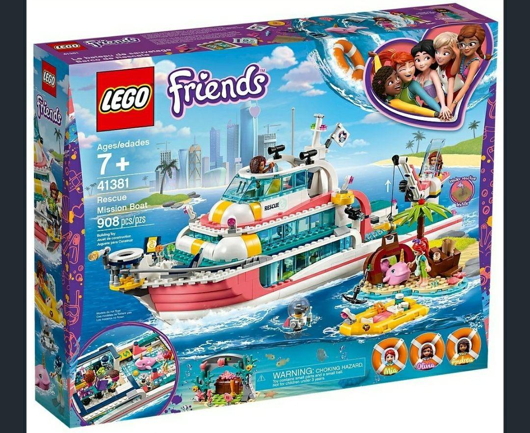 Lego friends 41381 Boot für Rettungsaktionen 55.99 Euro